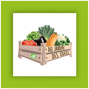 Logo Au jardin des Oules