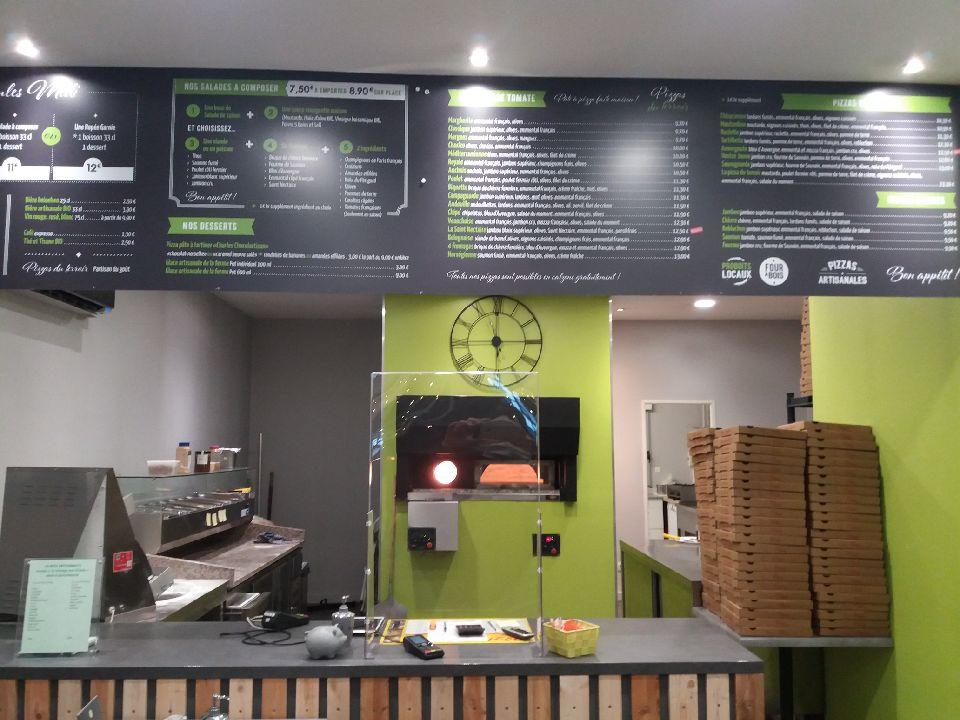 photo pizzas du terroir